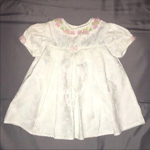 Baby White Dress Size 3-6 Months
